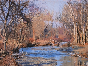 Late Autumn Oil on canvas 18x24