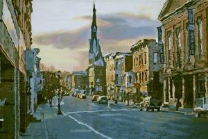 Warren Below Fourth Oil on canvas 24x36
