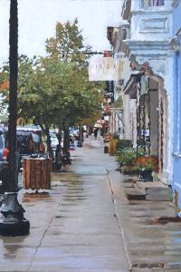 Warren Below Third Oil on canvas 36x24