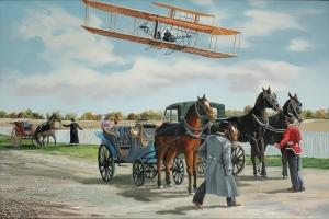 Wilbur Wright in France