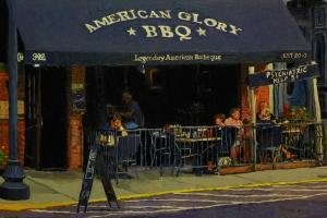 American Glory oil 12x18