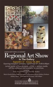 regional show poster 8.5x14 2014d