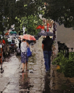 Rain #2 24x18 $1,300.