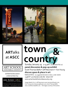 Art Talks Town & Country 2015