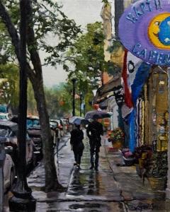 Rain #6 10x8 Price: $400.
