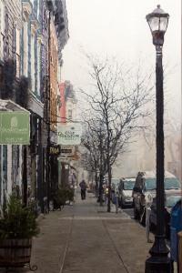 Hudson Fog 36x24 oil on canvas $5,000
